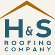 H & S Roofing and Gutters Logo