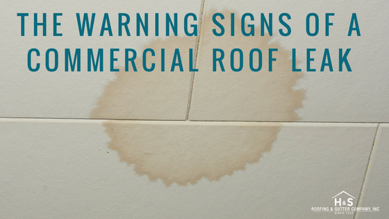 The Warning Signs Of A Commercial Roof Leak